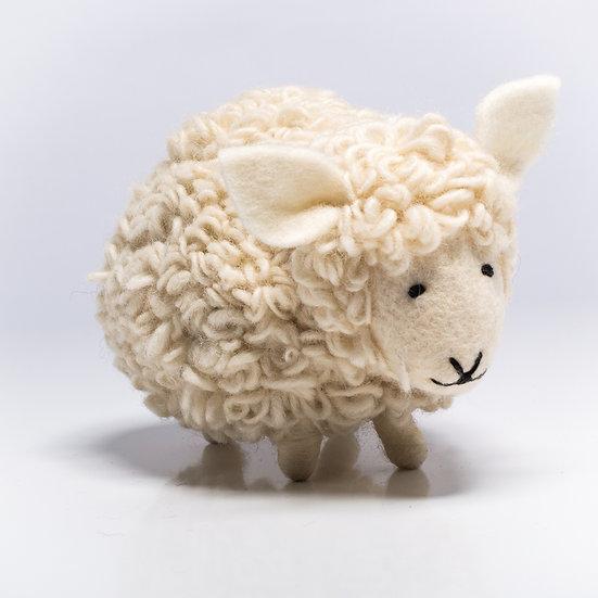 Woolly The Sheep Handmade Felted Animal Friend