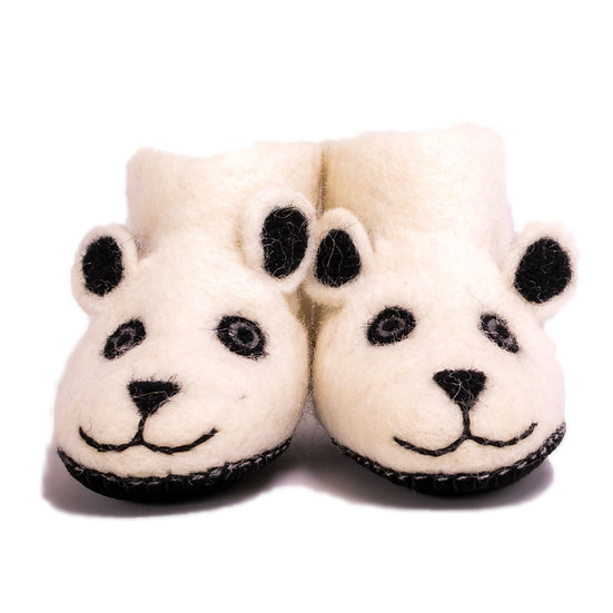 Polar Bear Slippers & Book