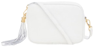 Classic White Soft Leather Bags