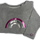 Thumbnail: Super Soft, Long Sleeve Grey Rainbow Top