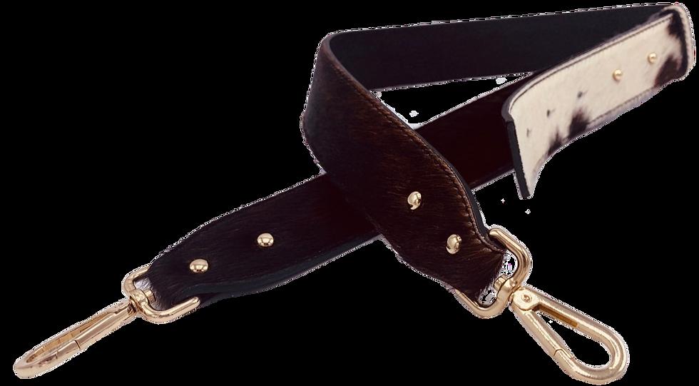 Leather Cowhide Detachable Fabric Strap