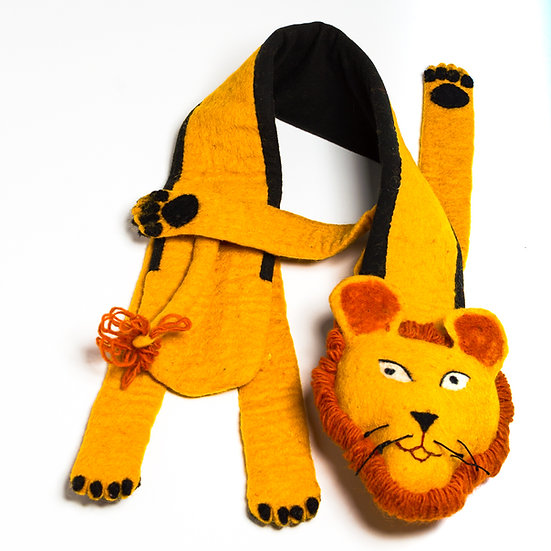 Simba The Lion Snuggly Scarf