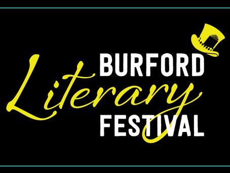 Burford Literary Festival is Open