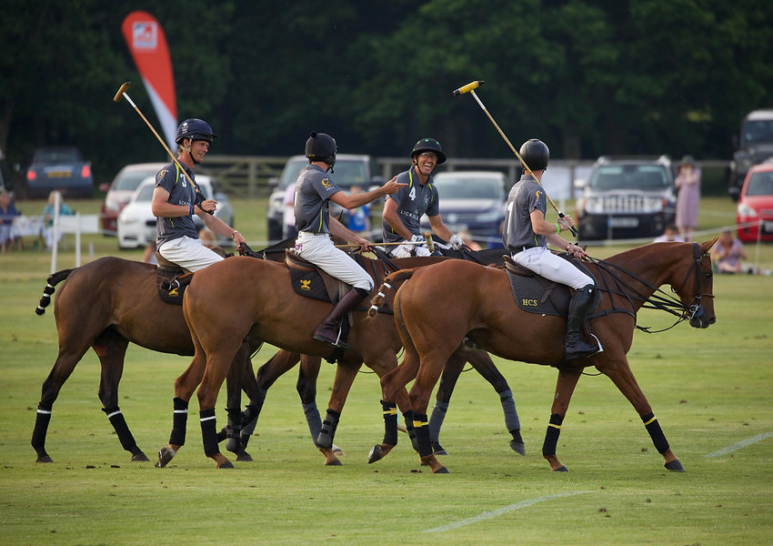 Banner 1st UK Sunset Polo by Clive Benne