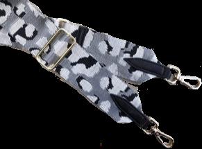 Silver Camo Detachable Fabric Strap