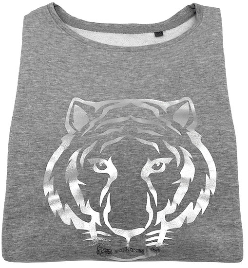 Super Soft, Long Sleeve Tiger Top