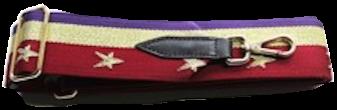 Russian Gold Star Detachable Fabric Strap
