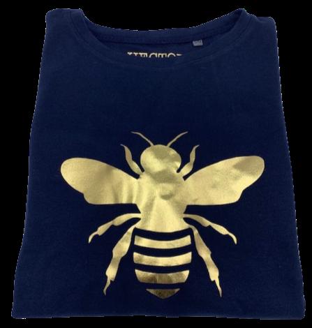 Super Soft, Long Sleeve Golden Bee Top