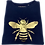 Thumbnail: Super Soft, Long Sleeve Golden Bee Top