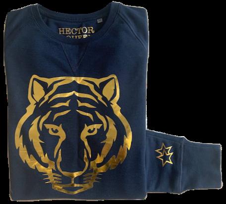 Soft Organic Gold Tiger Sweatshirt