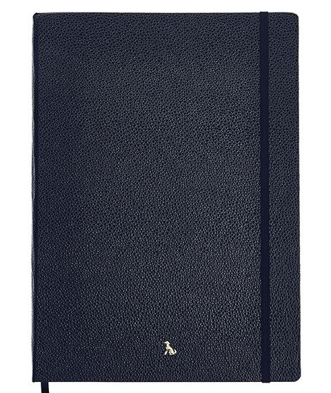 The Hardy Collection - Dahl in Oxford Blue - A4.