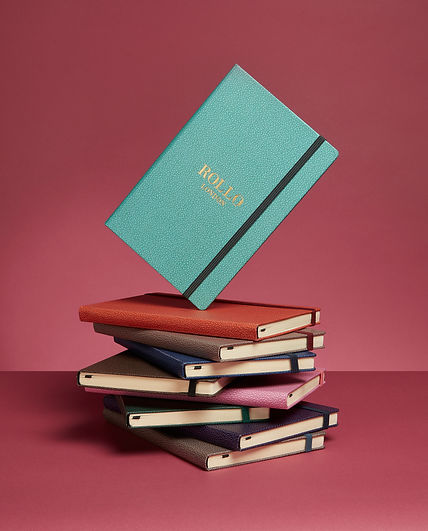 Rollo London Otto Notebook A5, the perfect Christmas present or gift