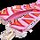 Thumbnail: Pink Chevron Detachable Fabric Strap