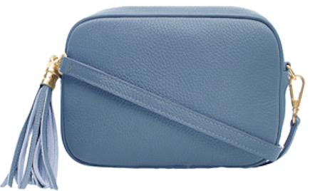 Denim Blue Soft Leather Bags