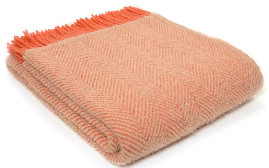 Flamingo & Pearl Welsh 100% Pure New Wool Blankets