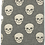 Thumbnail: Skull Super Soft Cotton Fleece Lined Throw