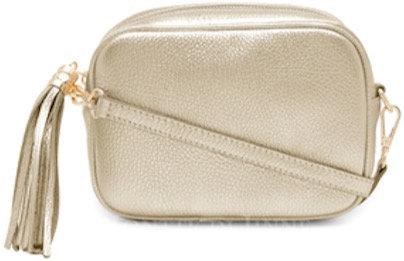 Shimmering Gold Soft Leather Bag