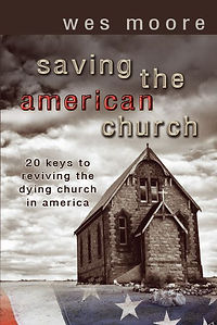 Saving Am Church 2020 Front Cover Image.