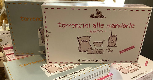 Torroncini morbidi alle mandorle assortiti 100 g