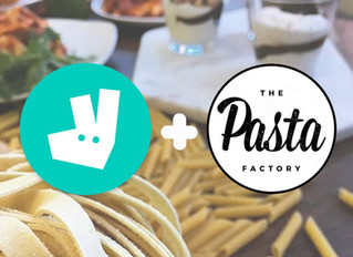 The Pasta Factory Teams up with Deliveroo!
