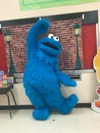 Sesame Workshop Live Cookie Monster Appearance