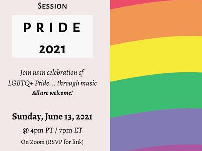 """PRIDE 2021"" Virtual Listening Session"
