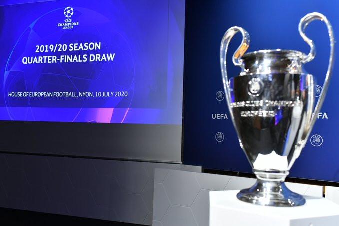 Sorteio da UEFA Champions League. (Foto: @ChampionsLeague)