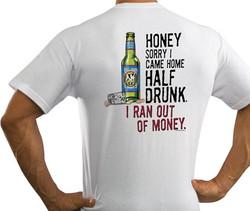 HALF DRUNK