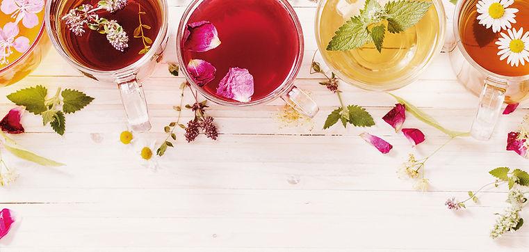 delicious black tea & roses