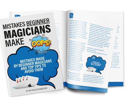 FREE 'Mistakes Beginners Make' eBook
