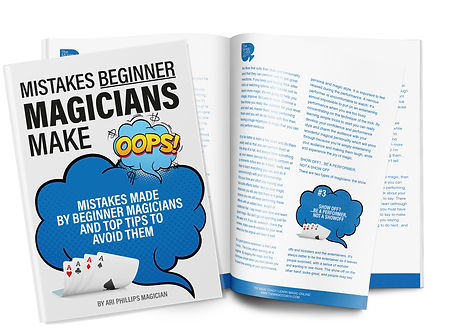 Mistakes Beginner Magicians Make - LM Th