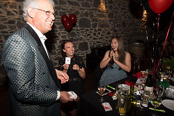 Danny does magic at a corporate function