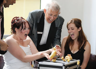 Brides blown away by Danny Phillips' magic