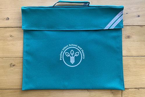 NEW LOGO Poulner Infant Jade Bookbag