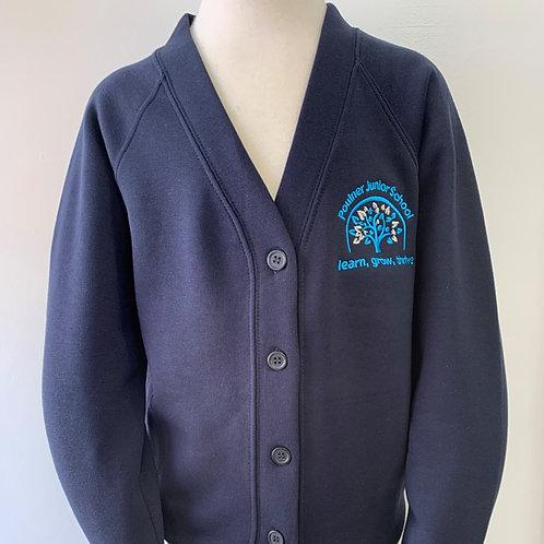 NEW LOGO Poulner Junior School Cardigan