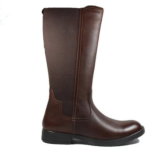 Geox knee high girls boot