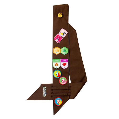 Brownies Embroidered Badge Sash