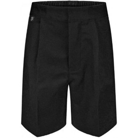 Boys Charcoal Standard Fit Shorts