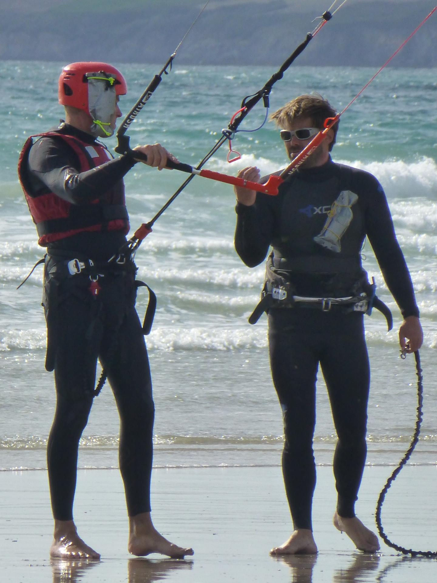 kitesurf crozon morgat