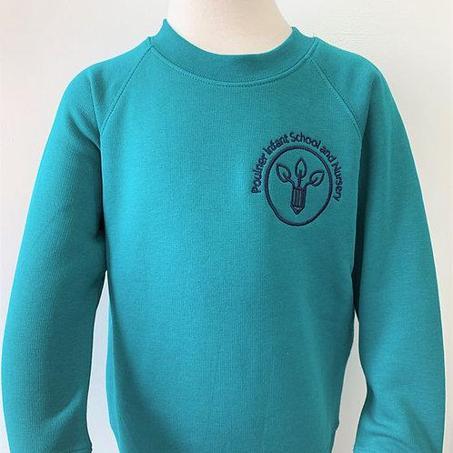 NEW LOGO Poulner Infant School Sweatshirt