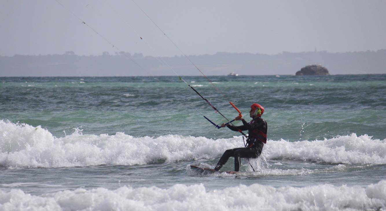 kitesurf crozon