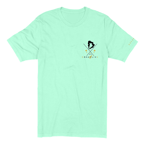 Midas Tee (Heather Mint/Black)
