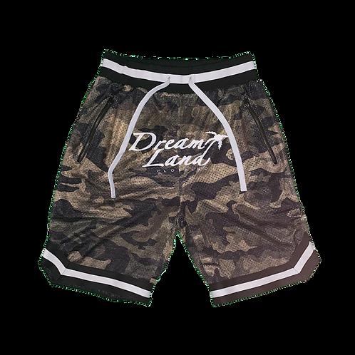 Olive Camo Male Shorts