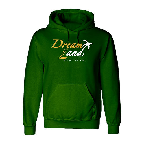 DNL Fleece Hoodie Forest Green
