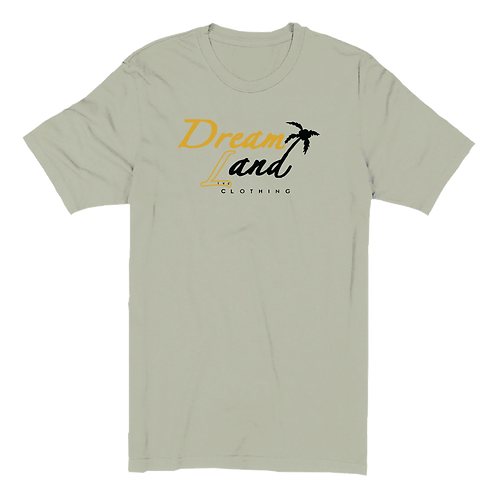 Classic DNL Tee (Heather Stone/Gold/Blk)[u]
