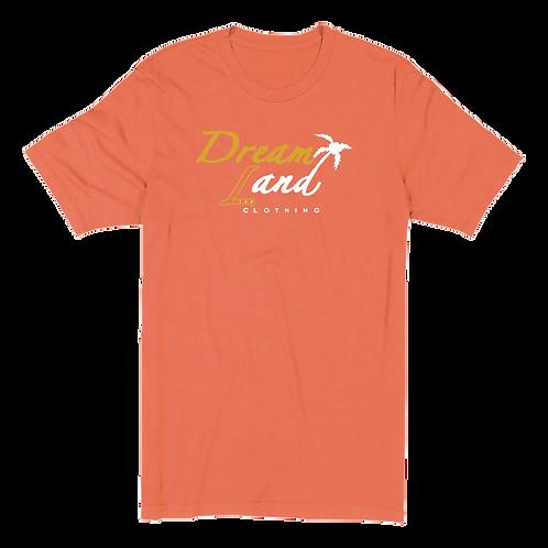 Classic DNL Tee (Heather Orange/Gold/White)