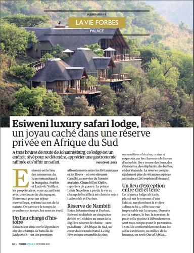 Forbes Afrique Esiweni 2