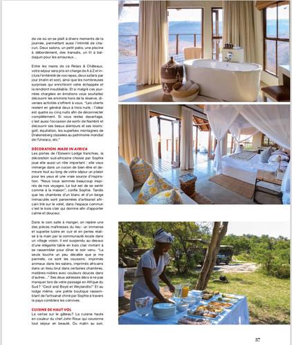 Press Article Esiweni Eventail 2018
