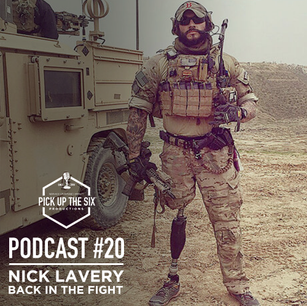PODCAST #20: NICK LAVERY, BACK IN THE FIGHT
