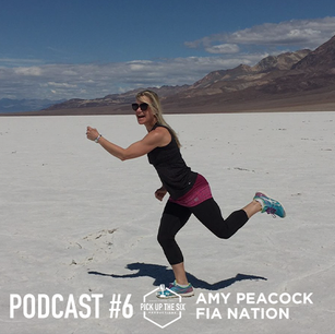 PODCAST #6: AMY PEACOCK, A SHARED CONNECTION THROUGH FEMALES IN ACTION
